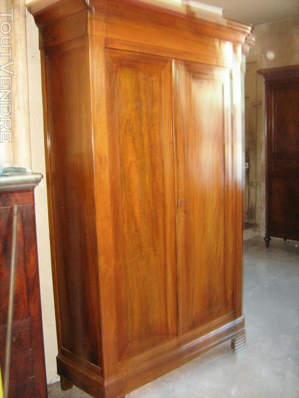 Belle armoire noyer blond époque louis Philippe en parfait é 557447282
