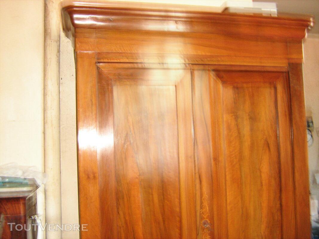 Belle armoire noyer blond époque louis Philippe en parfait é 557447387