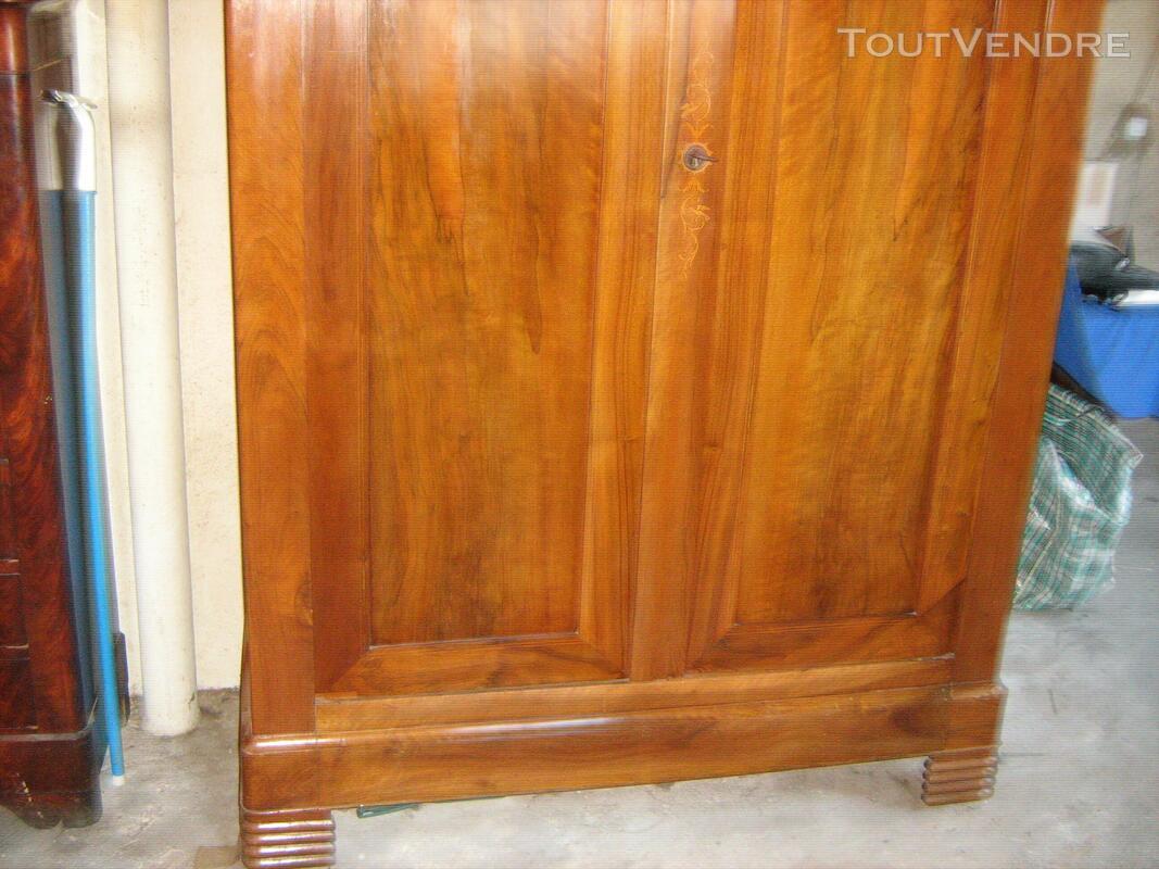 Belle armoire noyer blond époque louis Philippe en parfait é 557447480