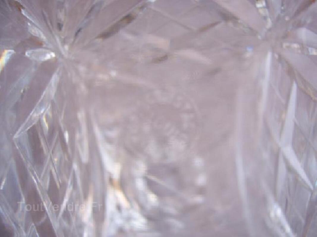 Belle carafe en cristal de saint louis 96269414