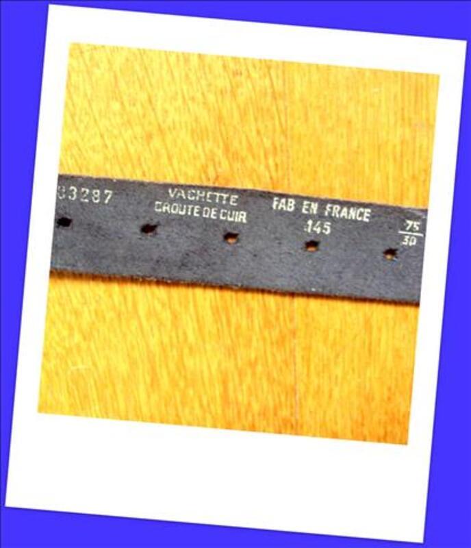Belle ceinture cuir noir vernis coeurs 40 80081080