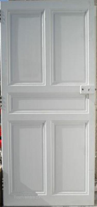 Belles portes anciennes à panneaux 1900 + porte placard 96691540