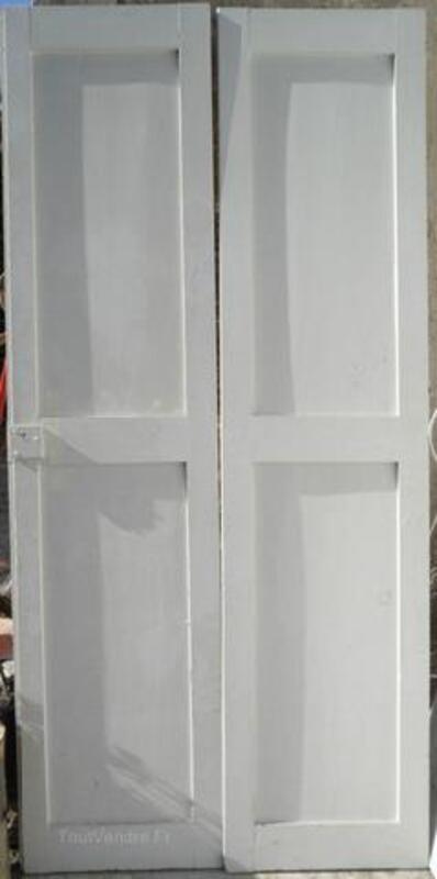 Belles portes anciennes à panneaux 1900 + porte placard 96691541