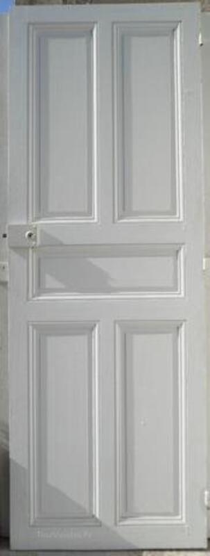 Belles portes anciennes à panneaux 1900 + porte placard 96691542