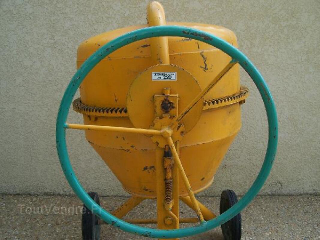 Bétonnière professionnelle 220 litres 93183534