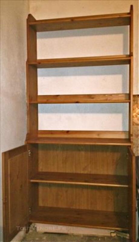 Bibliothèque Ikea Leksvik vernie effet ancien 84074412