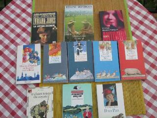 Bibliothèque verte et rose et autres éditions jeunesse