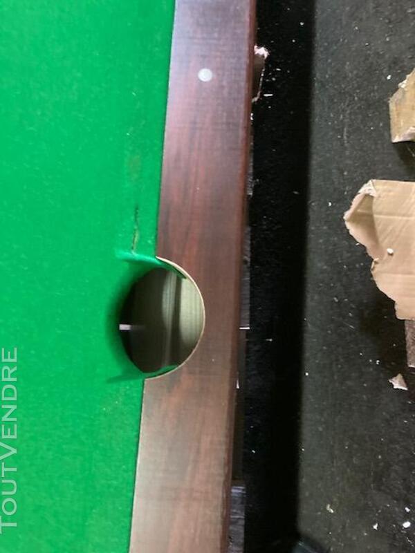 Billard Américain - Tapis Vert- 217 x 125 x 81cm  AUC3700998 717966235