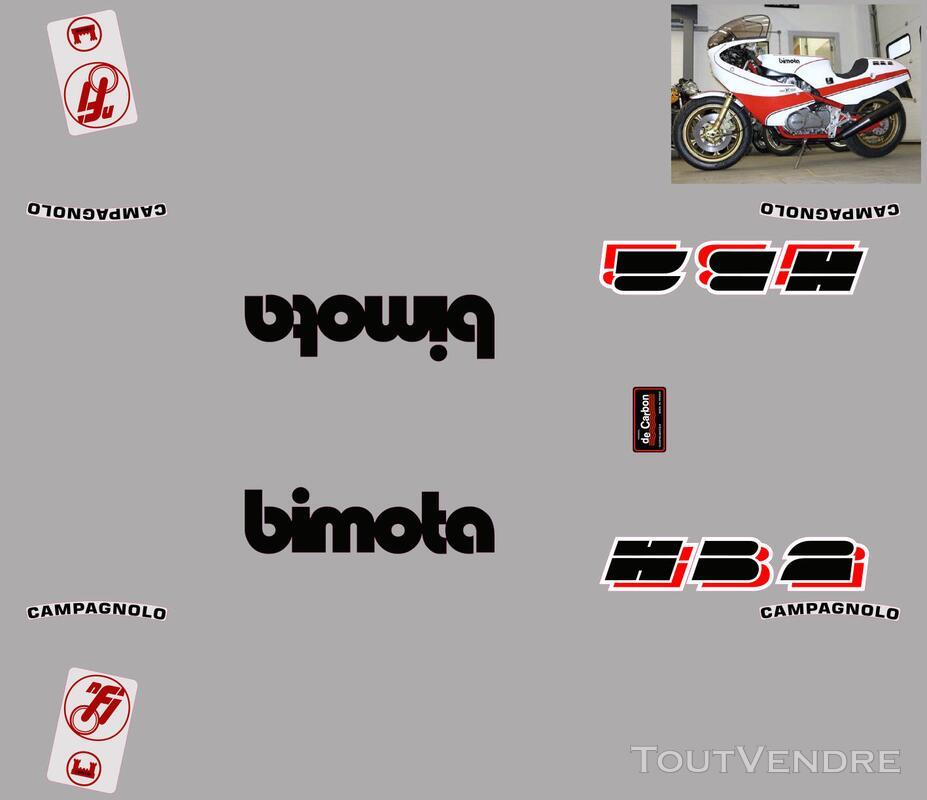 Bimota HB2, Honda CB 900 F, Kit déco stickers 674854405