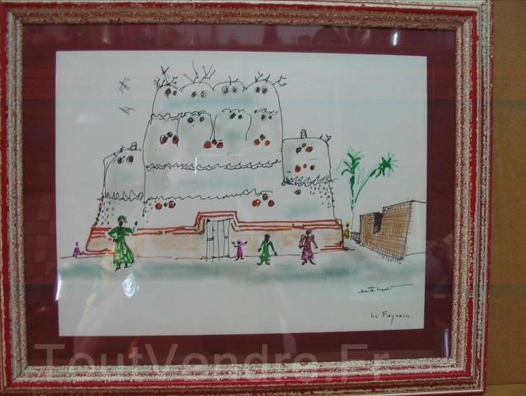 BIZETTE LINDET-scene orientaliste(prix de rome). 3240283