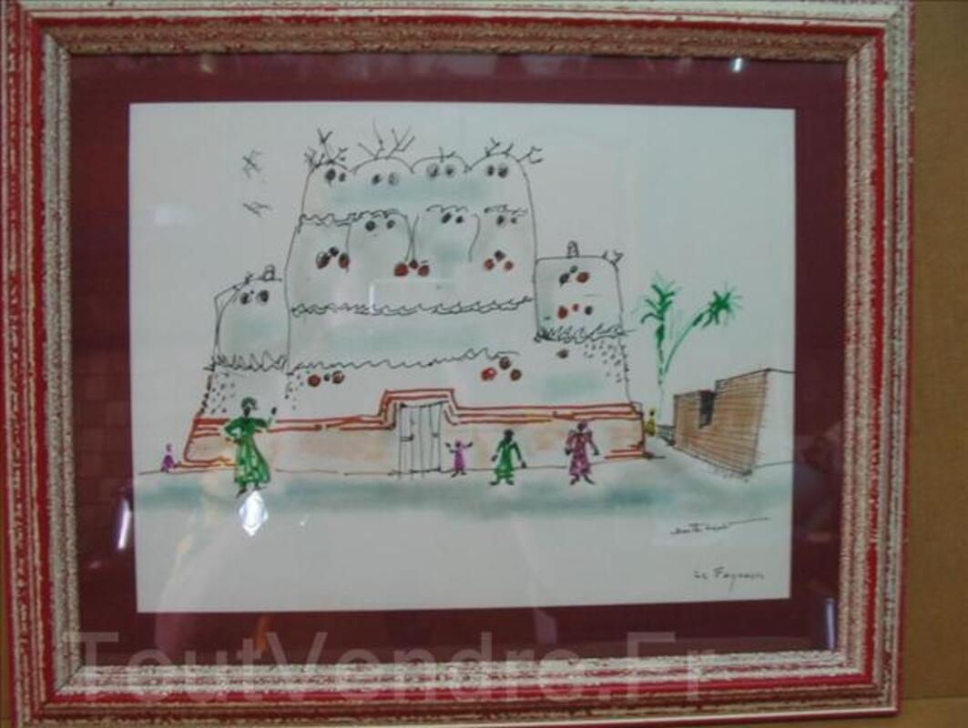 BIZETTE LINDET-scene orientaliste(prix de rome). 3240284