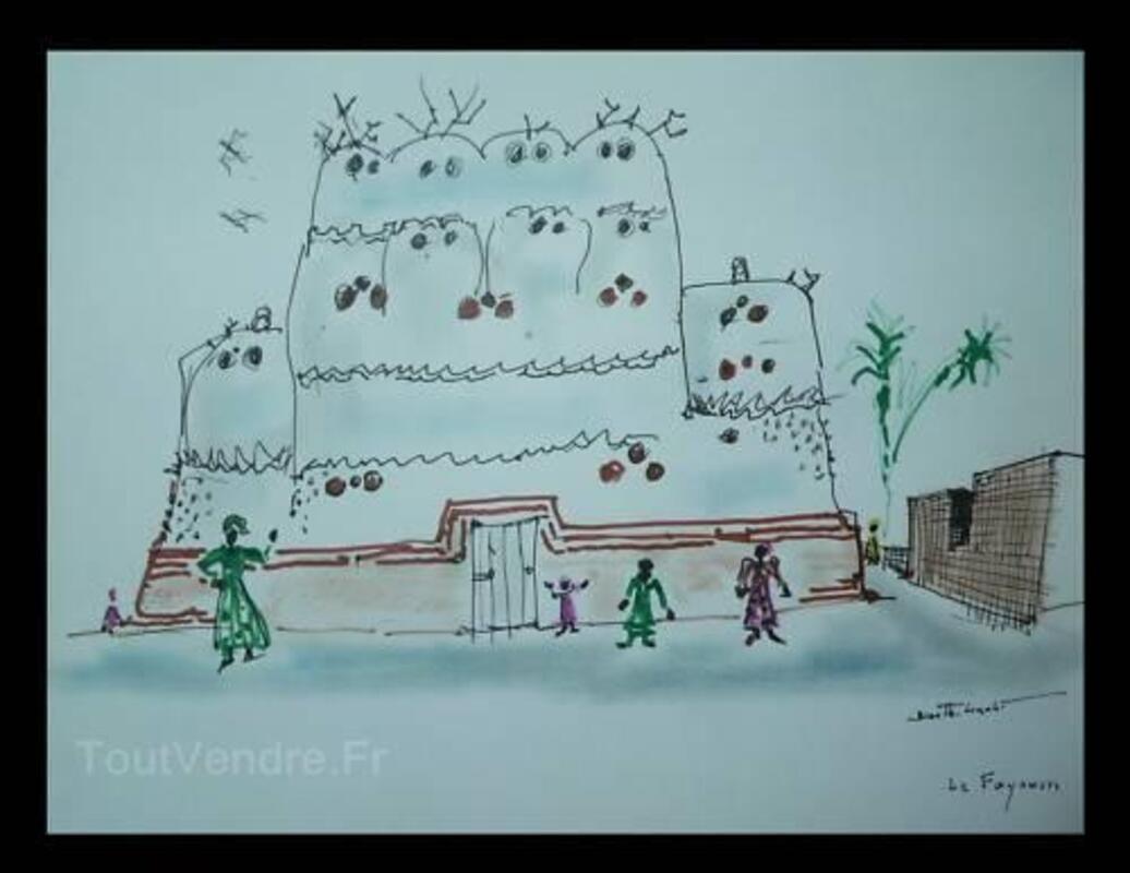 BIZETTE LINDET-scene orientaliste(prix de rome). 3240285