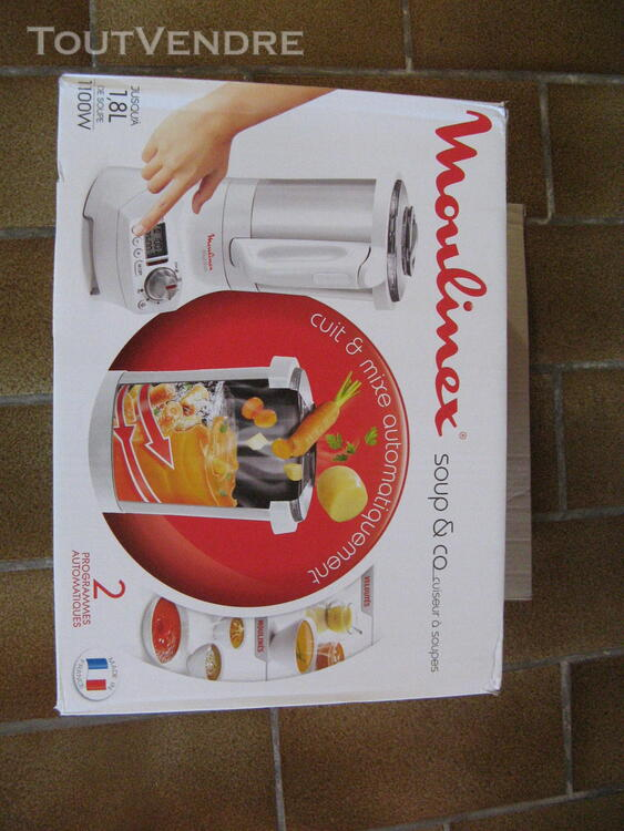 """Blender chauffant """"soup and co"""" moulinex 299785742"""