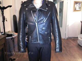 Blouson cuir noir Perfecto SCHOTT made in USA