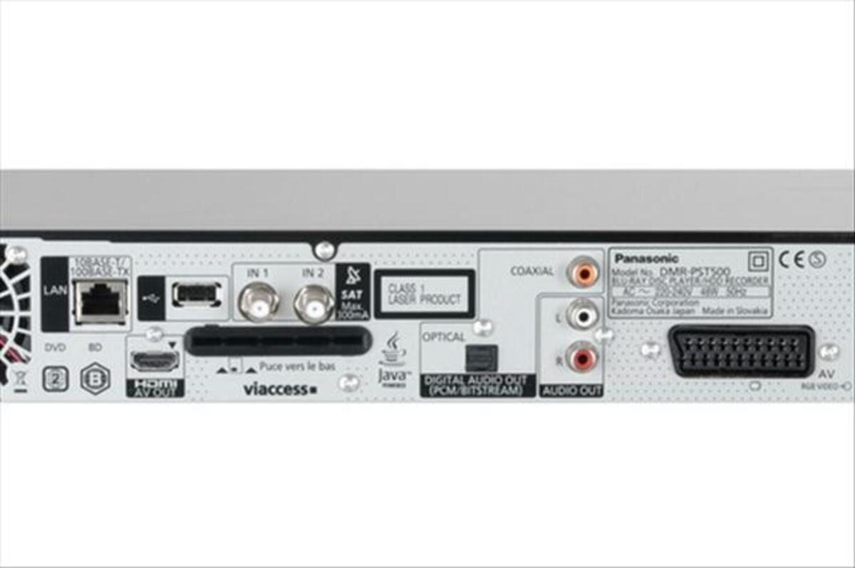 Blu-ray 3D Enregistreur 250go Tnt Panasonic dmr-pst500 65659341