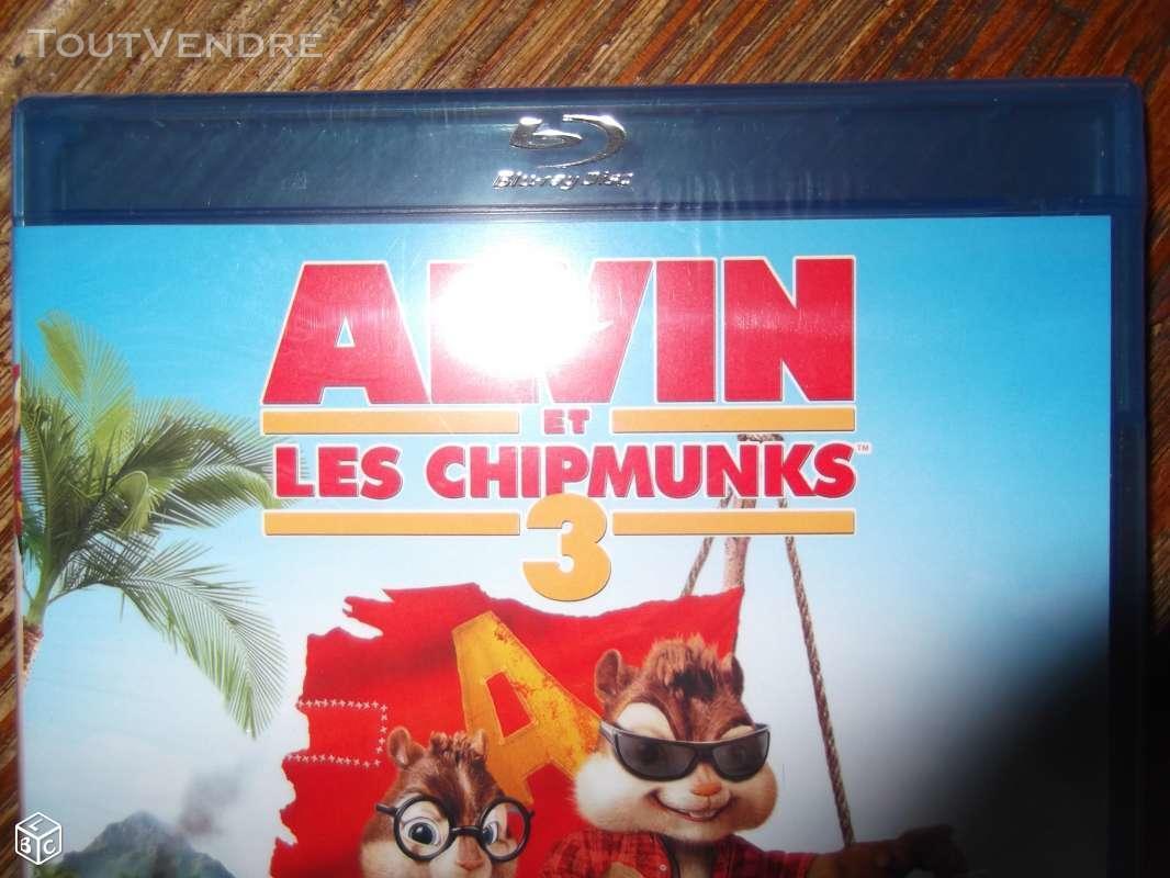 Blue ray ALVIN ET LES CHIPMUNKS 3  - NEUF sous bliste 155848395