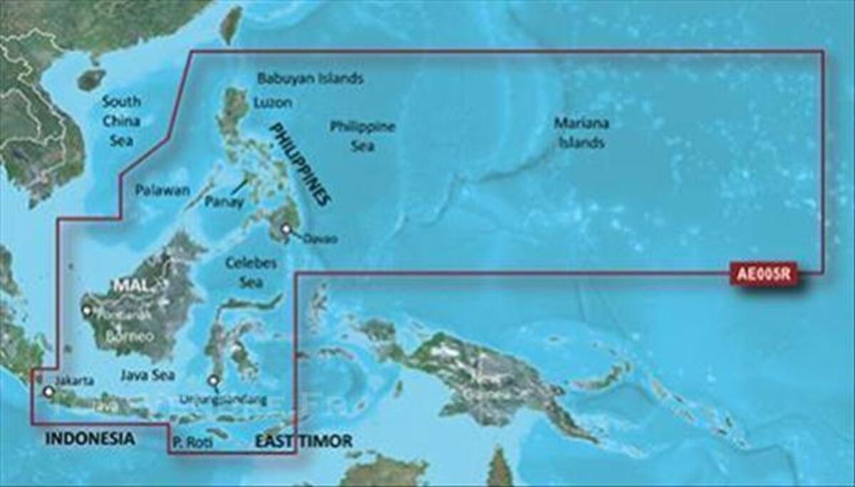 BlueChart g2 Vision VAE005R  Philippines-Java-Mariana 76604224