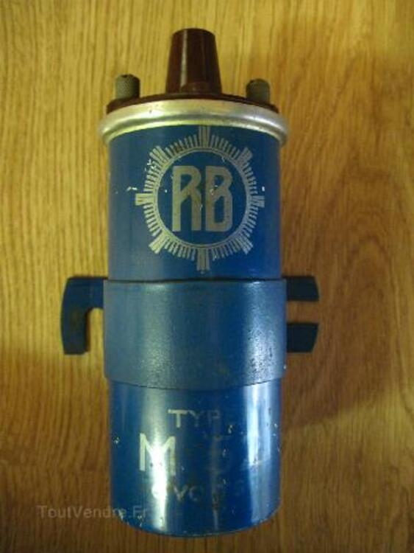 """Bobine d'allumage """"RB"""". 6 Volts. 93213785"""