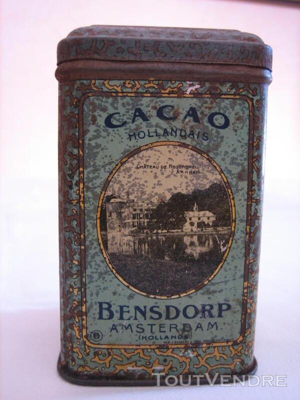 Boite ancienne BENSDORF - Cacao Amsterdam (Hollande) 137216247