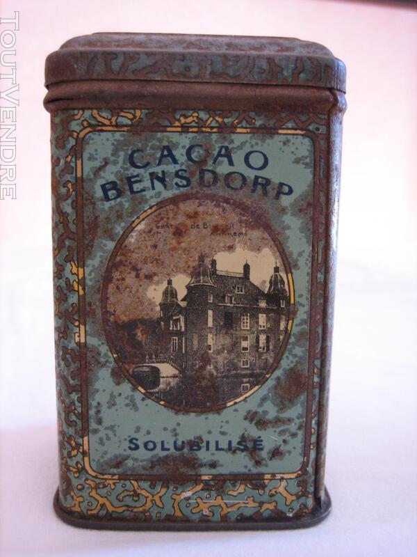 Boite ancienne BENSDORF - Cacao Amsterdam (Hollande) 137216248
