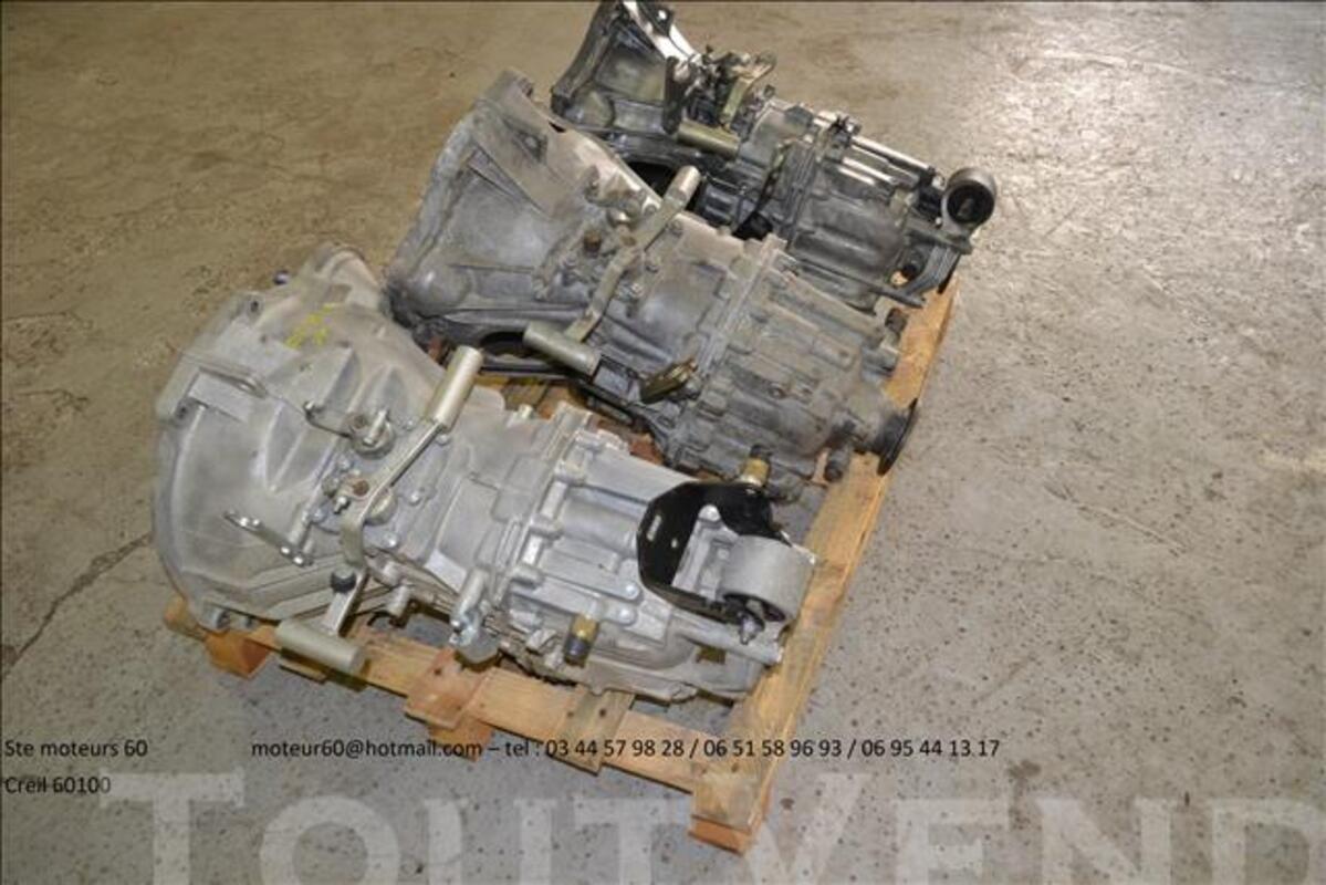 Boite de vitesses mascott iveco 82370632