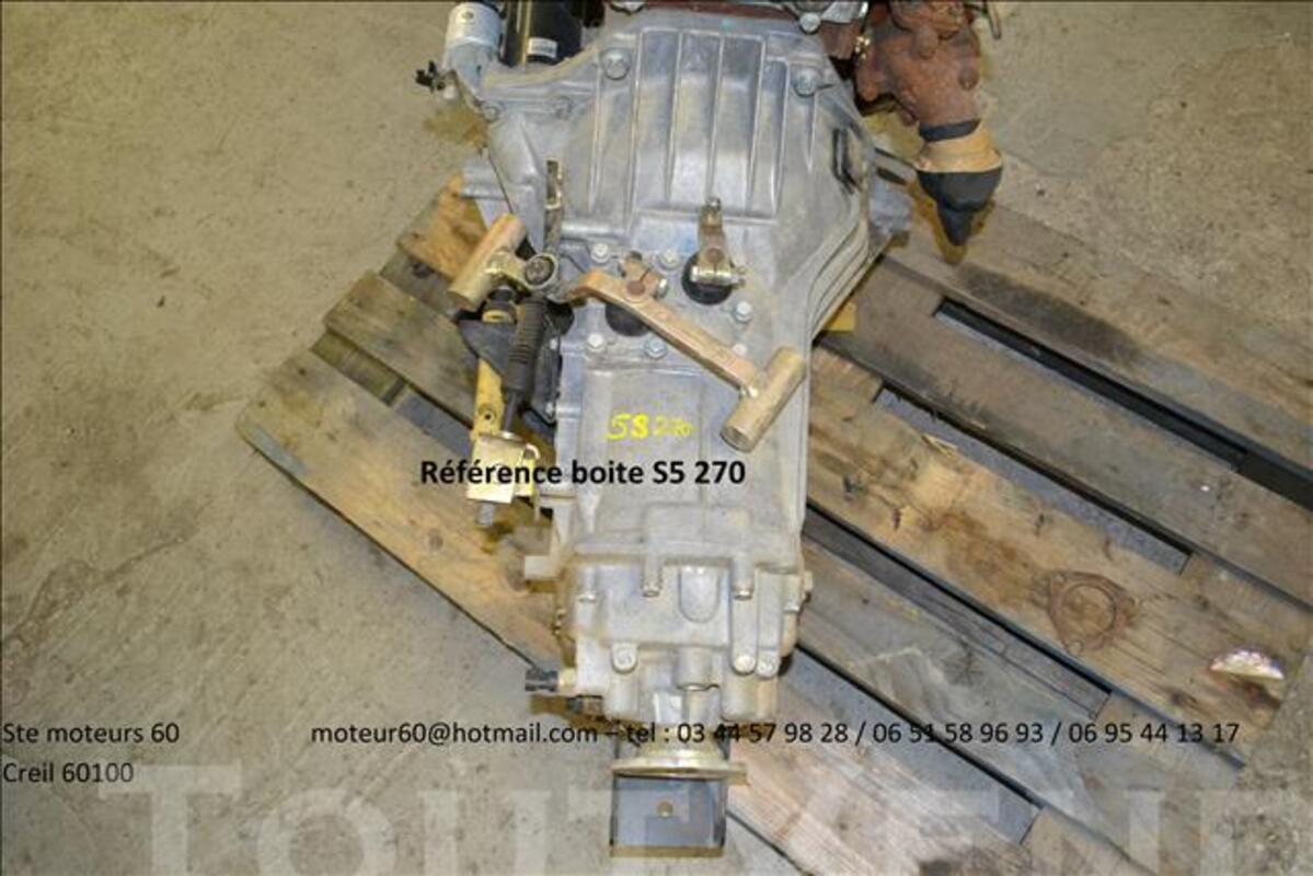 Boite de vitesses mascott iveco 82370633