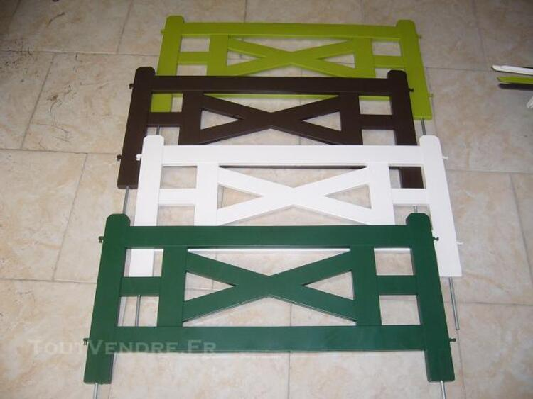 BORDURE DE JARDIN EN PVC MODELE ALLEGRO PRIX BAS 82470008