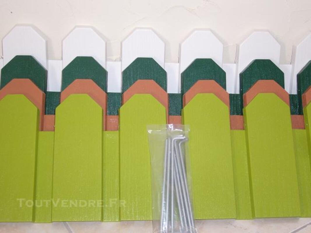 BORDURE DE JARDIN EN PVC MODELE COUNTRY PAS CHER 82470017