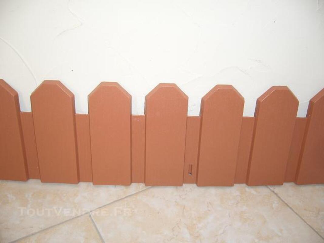BORDURE DE JARDIN EN PVC MODELE COUNTRY PAS CHER 82470018