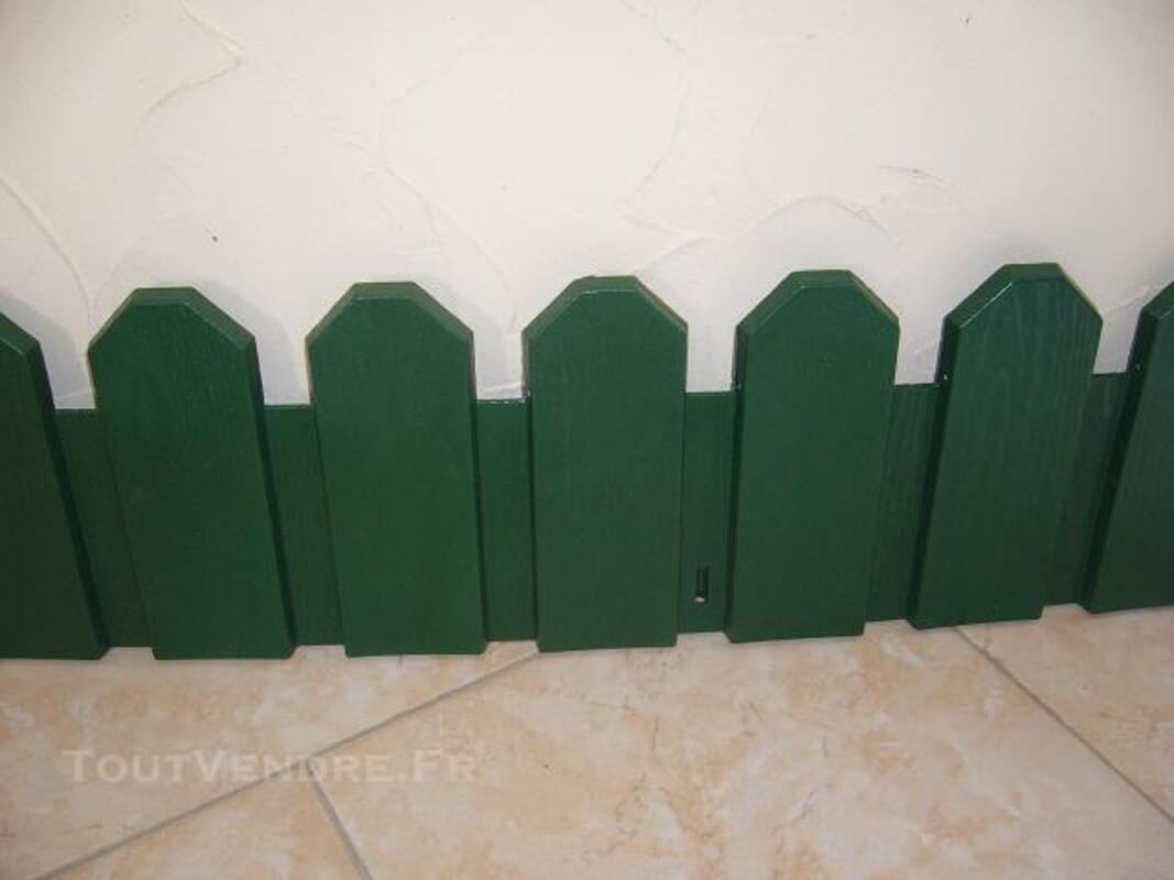 BORDURE DE JARDIN EN PVC MODELE COUNTRY PAS CHER 82470019