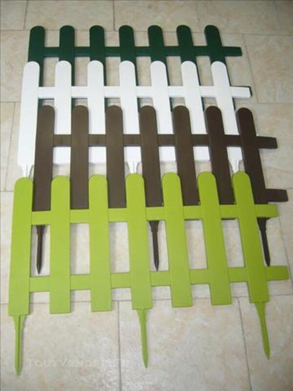 BORDURE DE JARDIN EN PVC MODELE PICNIC 82470005