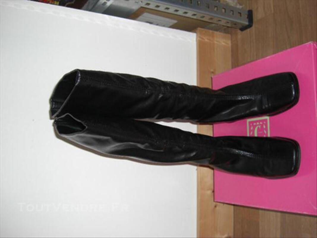Bottes Corine Paris Chaussures noires T36 NEUVES 76600427