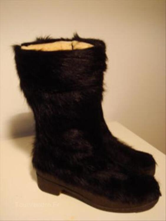 BOTTES EN CHEVRE VINTAGE PICHETTE MADE IN FRANCE 56036564