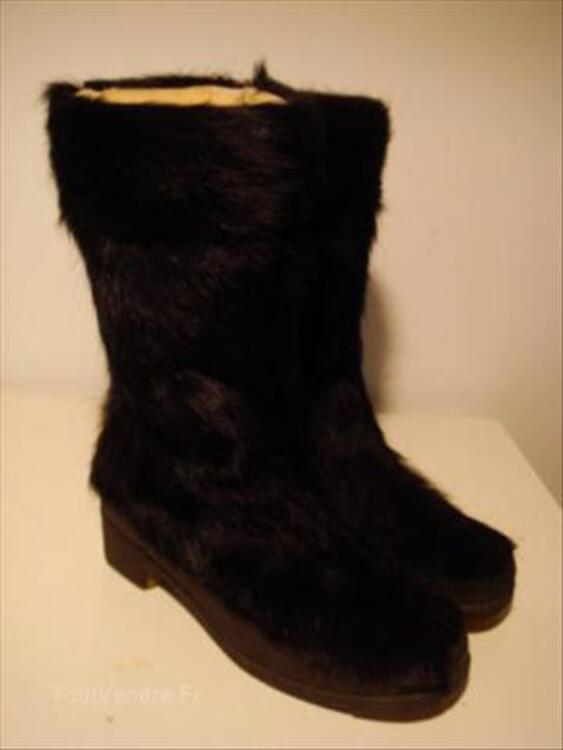 BOTTES EN CHEVRE VINTAGE PICHETTE MADE IN FRANCE 56036566