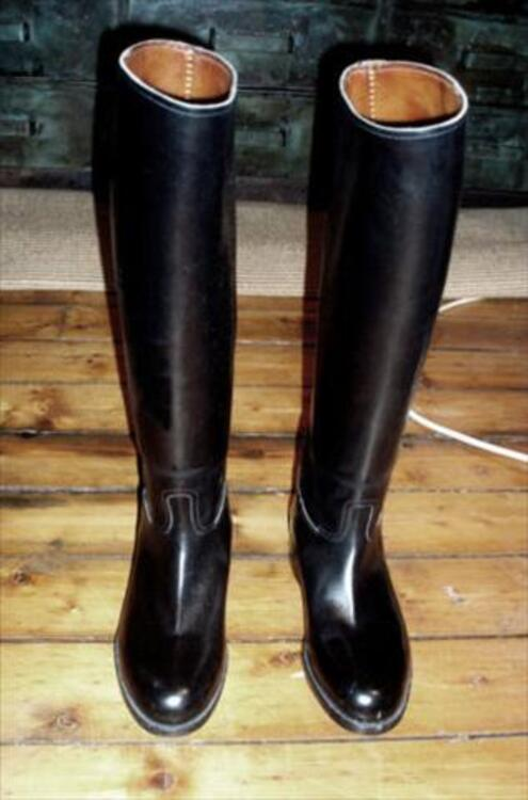 Bottes equitation tout cuir Weston femme 37 (S.Vincent) 56538456