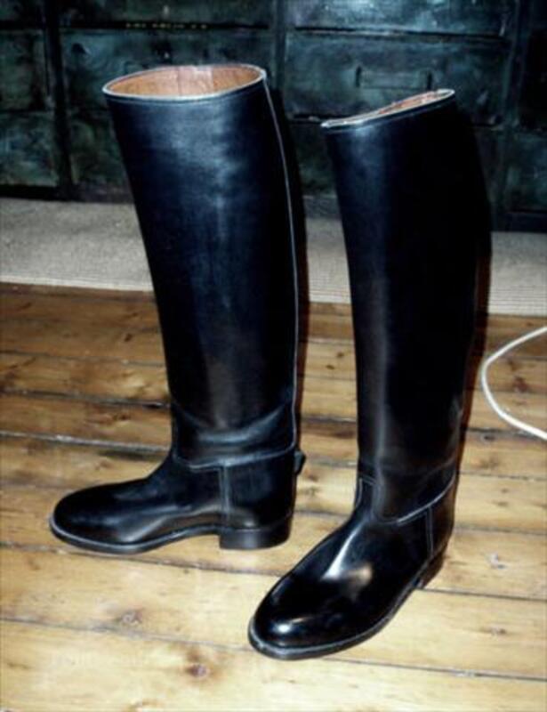 Bottes equitation tout cuir Weston femme 37 (S.Vincent) 56538457