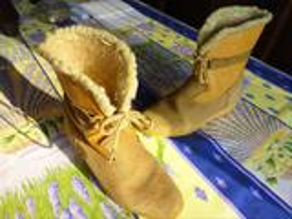 Bottines/Boots Quasi neuves P.37