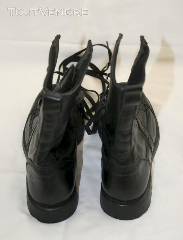 Bottines OXS cuir noir 113662022
