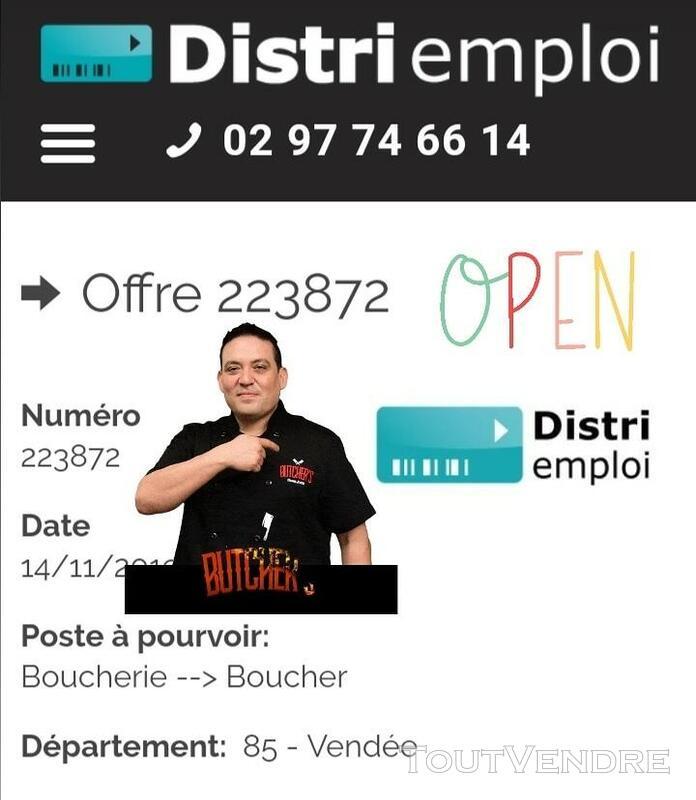 Boucher H/F (85) 613477795