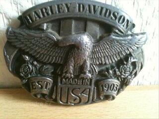 Boucle ceinture HARLEY DAVIDSON homme