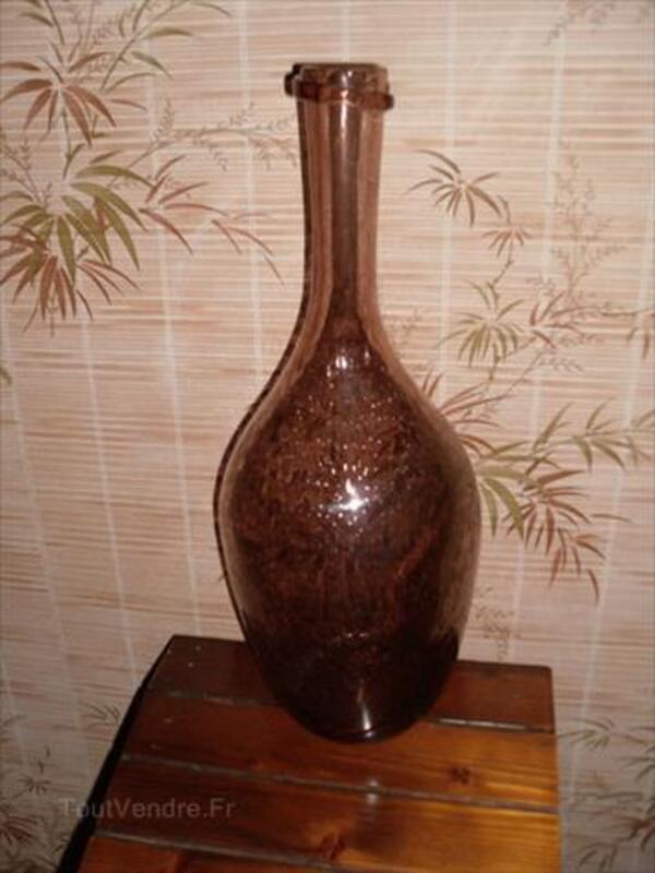 Bouteille verre soufflé Biot 64634926