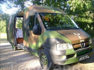 Boxer 2.8l HDI 130ch 330LH aménagé camping car