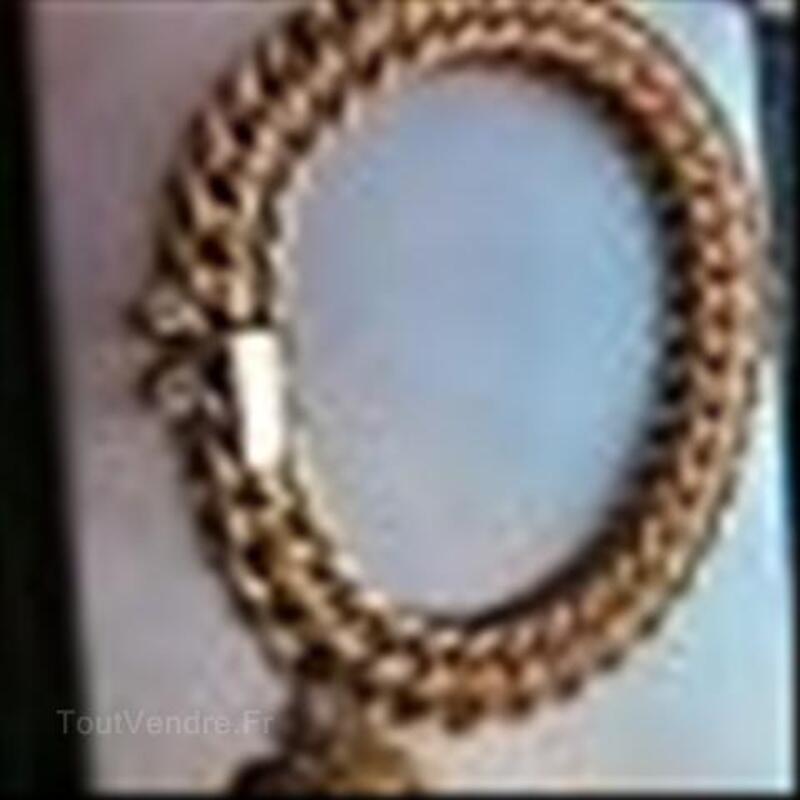 Bracele maille americaine or 18 ct 64564881
