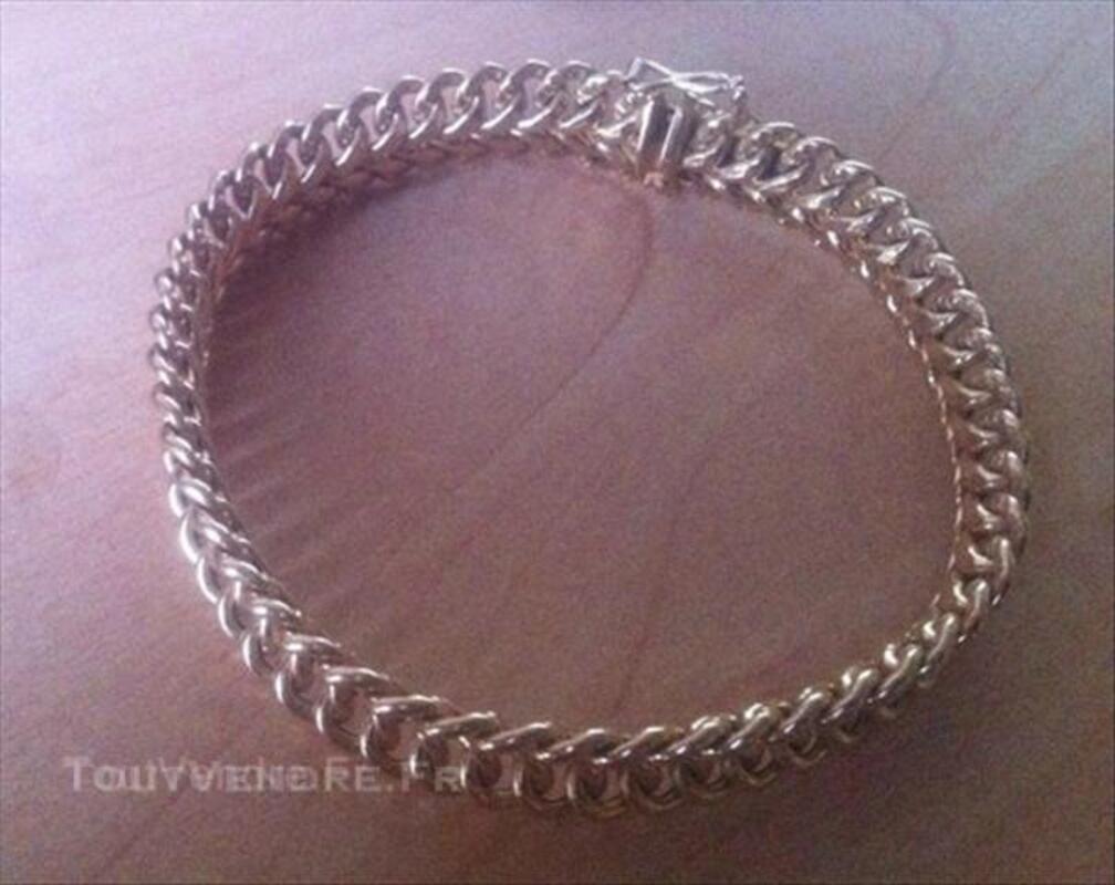 Bracelet gourmette maille Américaine or 18carats 45848771