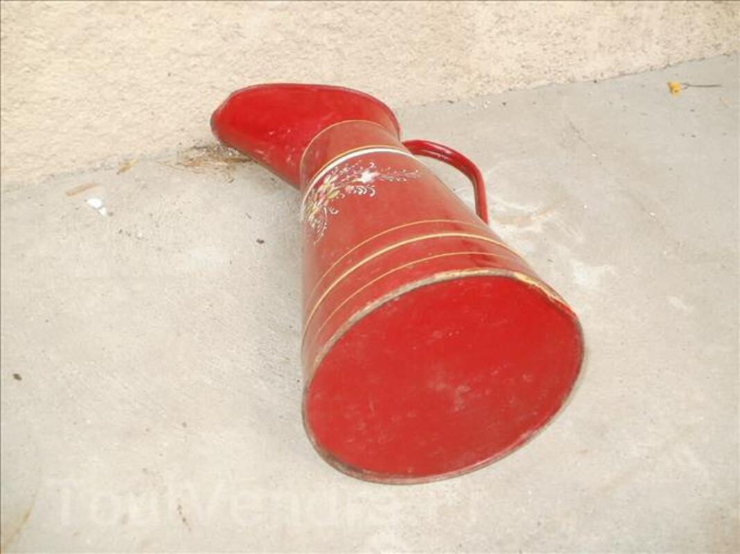 Broc a eau ancien émaillé année 1920 96635411
