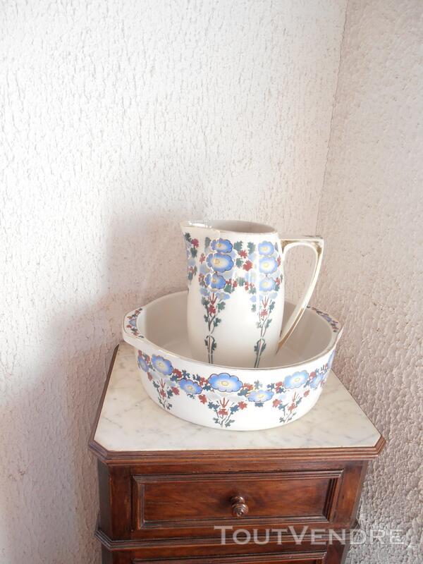 BROC ET CUVETTE céramique MOULIN DES LOUPS HAMAGE 123555684