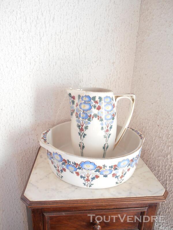 BROC ET CUVETTE céramique MOULIN DES LOUPS HAMAGE 123555772
