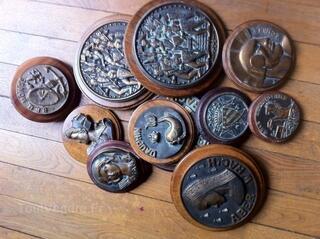 Bronzes à l'effigie de bateaux