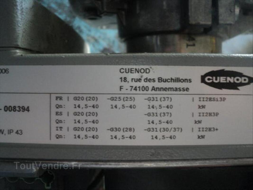 BRULEUR CUENOD NC4 GAZ 15-40KW 56477505