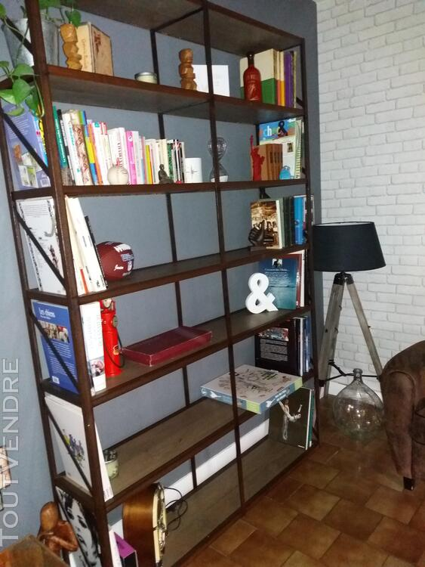 Bureau, bibliothèque , console style industriel 231182957